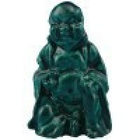 Dollhouse Meditating Buddha - Green - Product Image