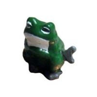 (**) Unfinished Wind-Up Duck or Frog - Product Image