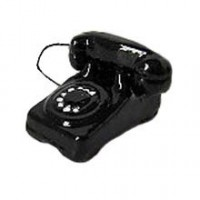 (§) Disc .40¢ Off - 1940's Telephone Black - Product Image