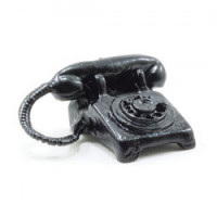 (*) Dollhouse Rotary Desk Phone - Product Image
