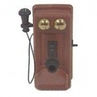 (*) Dollhouse Old Fashioned Phone by Chrysnbon - Product Image