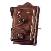 § Sale .60¢ Off - Old Fashioned Wood Phone - Product Image