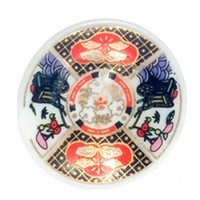 Dollhouse Miniature Imari Plate - Product Image