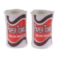 (*) Dollhouse 2 Rolls of Paper Towels - Product Image