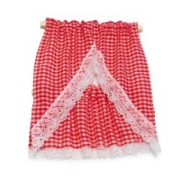Dollhouse Gingham Kitchen Curtains - Product Image