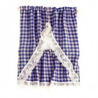 Dollhouse Country Gingham Curtains - Product Image
