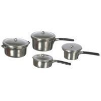 Dollhouse 4 pc Cookware Set w/Lids - Product Image