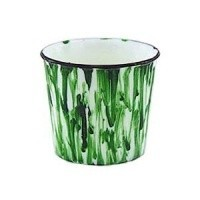 Decorated Kitchen Trash Bucket- Choice of Color - - Product Image