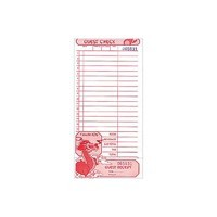 1 pc. Restaurant Guest Check - Product Image