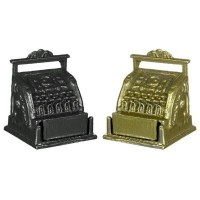 Dollhouse Old Fashion Cash Register - Product Image