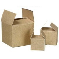 (**) Dollhouse Brown Packing Cartons - Product Image
