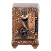 § Sale $1 Off - Metal Antique Styled Safe - Product Image