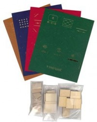 Dollhouse Faux Leather Book (Kit) - Product Image