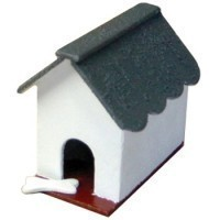 Dollhouse Dog House (Kit) - Product Image