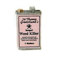 Dollhouse Weed or Bug Killer Can- Choice of Style - - Product Image