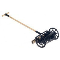 (**) Dollhouse Old Fashion Iron Lawn Mower - Product Image