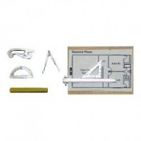 Dollhouse 7 pc Drafting Set - Product Image