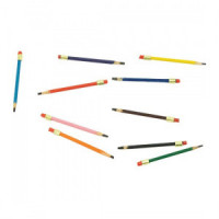 (*) 10 Dollhouse School Colored Pencils - Product Image