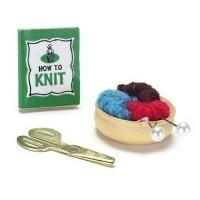 § Sale .60¢ Off - Dollhouse Knitting Set - Product Image