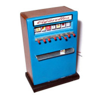 Dollhouse 1950's Cigarette Machine - Product Image