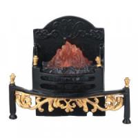 Large Dollhouse Fireplace Box - Product Image