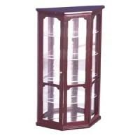 Dollhouse Mahogany Curio Cabinet - Product Image