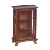 § Disc $2 Off -  Dollhouse Walnut Curio Cabinet - Product Image