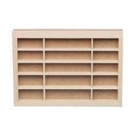 Dollhouse Store Closed-Back Shelving - Product Image