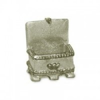 (**) Unfinished Jewelry Box - Product Image