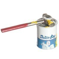 Dollhouse Paint Can with Hammer - Product Image
