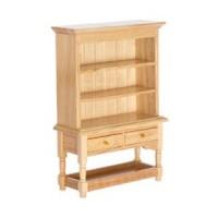 Dollhouse Kitchen Shelf Top Hutch- Choice of Finish - - Product Image