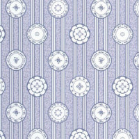 (§) Sale $3 Off - 3 Shts China Blue Wallpaper - Product Image