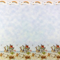 (§) Sale $3 Off - 3 Shts Noah's Ark Wallpaper - Product Image