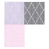 (§) Disc 50% Off - 3 Shts Diamond Gingham Paper - Product Image