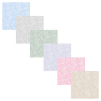3 Shts - Reverse Tiffany Wallpaper- Choice of Color - - Product Image