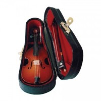 Dollhouse Bass Cello or Double Bass with Case - Product Image