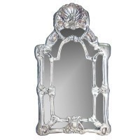 Dollhouse Victorian Shell Mirror - Product Image