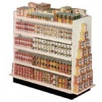 (**) Dollhouse Double Sided Store Shelf (Kit) - Product Image