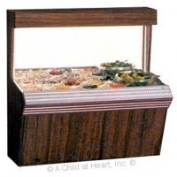 (*) Dollhouse Salad Bar Unit (Kit) - Product Image