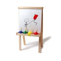 (**) Finger Paints and Easel - Product Image