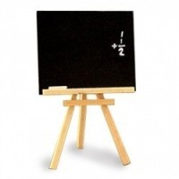 Small Dollhouse Easel w/ Chalk Board - Product Image