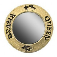 Drama Queen Frame Mirror - Product Image