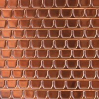 Dollhouse Copper Roof Tile, 1 Piece - Product Image