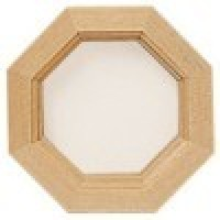 (**) Dollhouse Octagon Window - Product Image