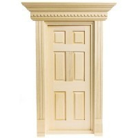 Dollhouse Yorktown Door - Product Image