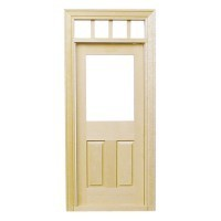 Traditional Door w/Transom - Product Image