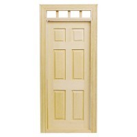 Six Panel Door w/Transom - Product Image
