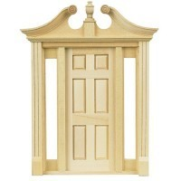 Deerfield Door w/ Sidelights - Product Image