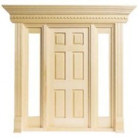 Jamestown Door with Sidelights - Product Image