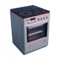 Dollhouse Silver Hob Cooker / Stove - Product Image